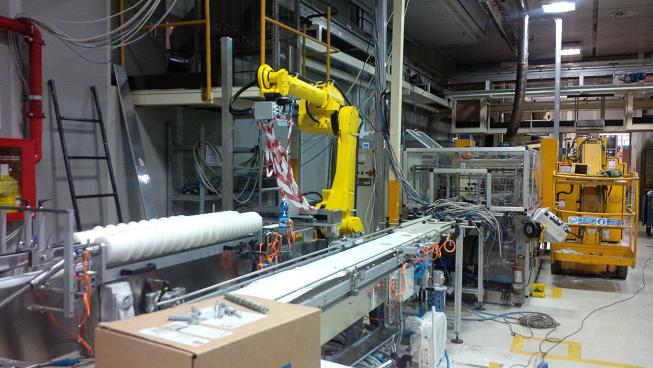 Ricostruzione Isola Robotizzata Nuova